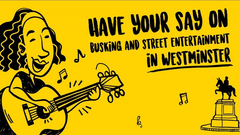Have your say on Busking in Westminster - Click here to view this entry