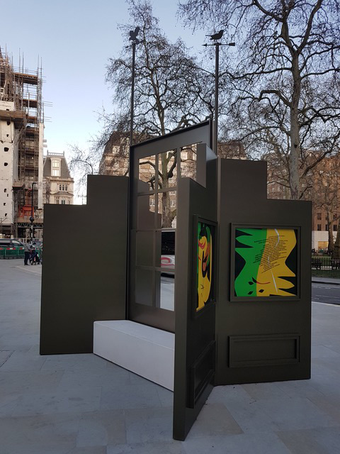 New Public Artwork Unveiled at Nightingale's Corner, Berkeley Square - Click here to view this entry
