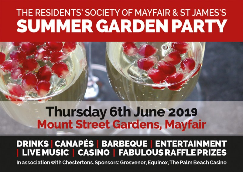 2019 Summer Garden Party - Click here to view this entry